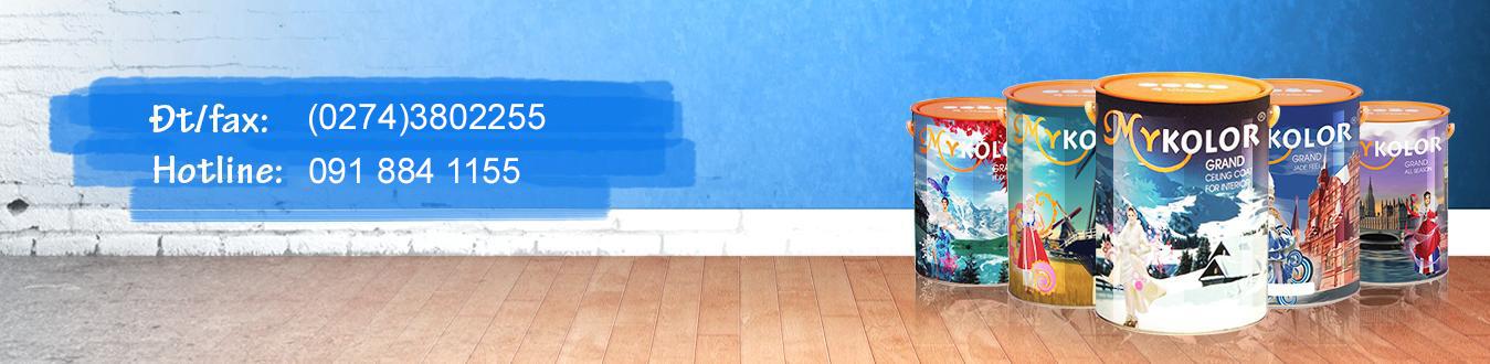 Nhà phân phối sơn Mykolor Bình Dương LH 0918841155